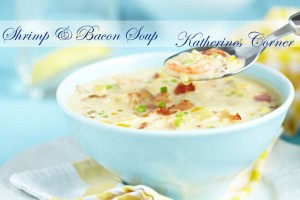Shrimp Soup with Bacon