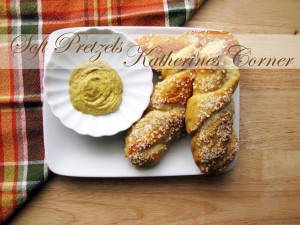 soft pretzel twist recipe