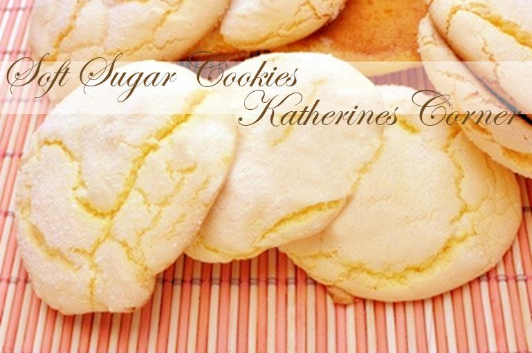 soft sugar cookies katherines corner