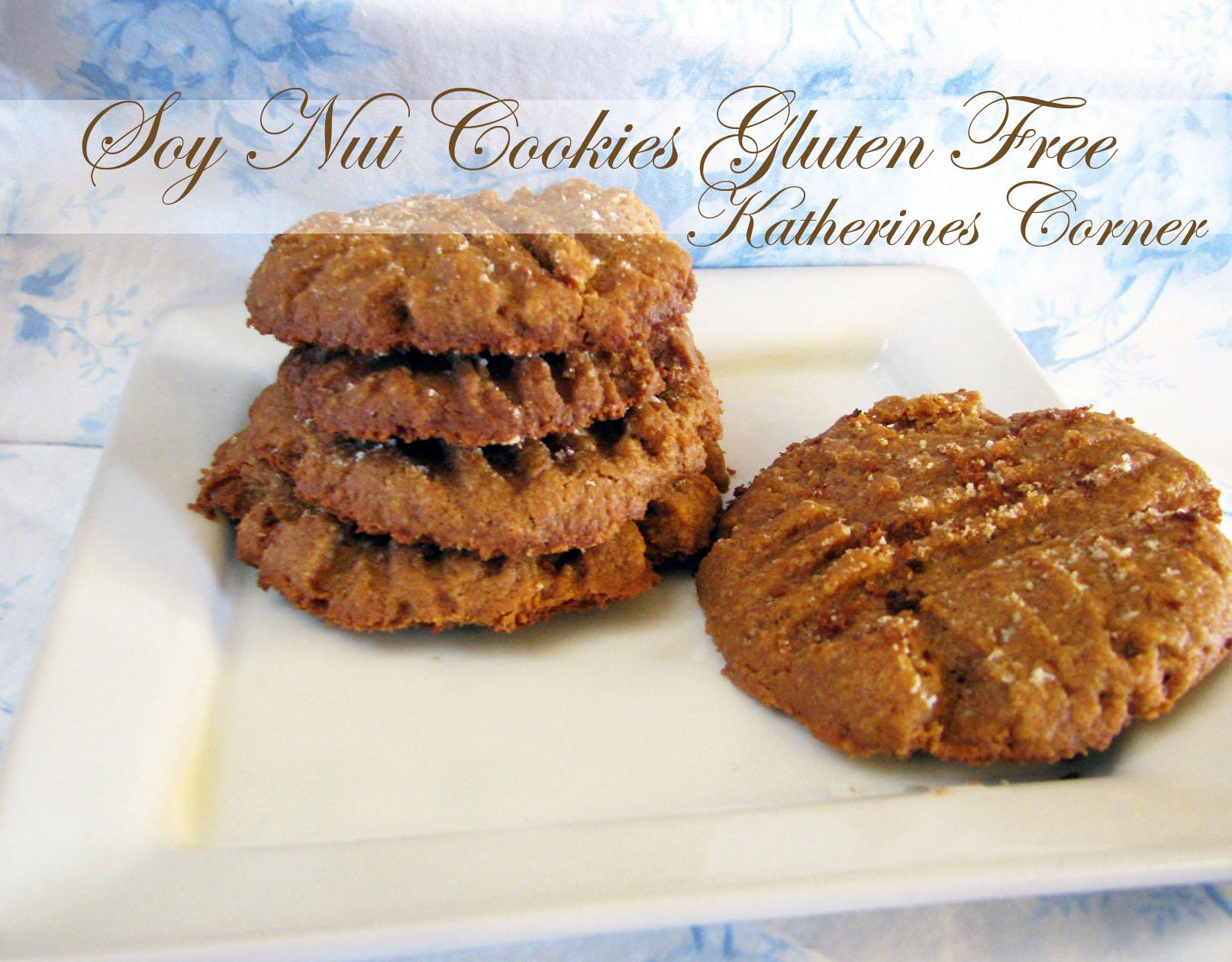 soy nut cookies katherines corner