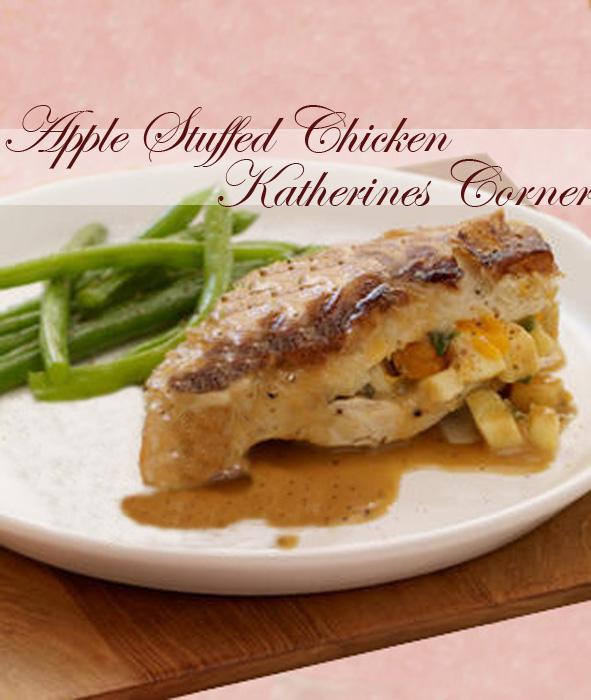 apple stuffed chicken katherines corner