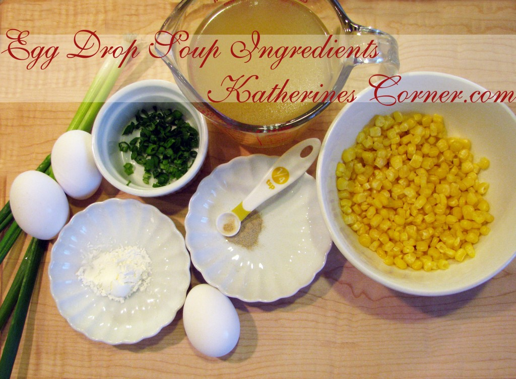 egg drop soup ingredients katherines corner