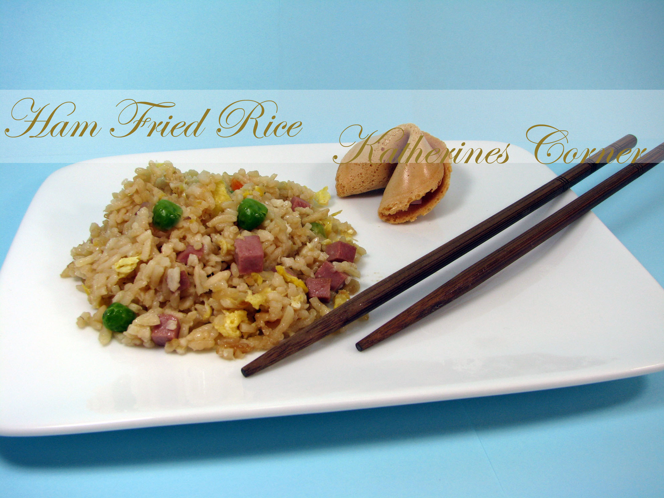 Meals On Monday Ham Fried Rice