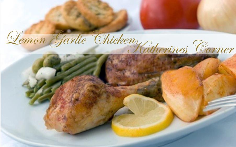 Meals On Monday Garlic Lemon Chicken