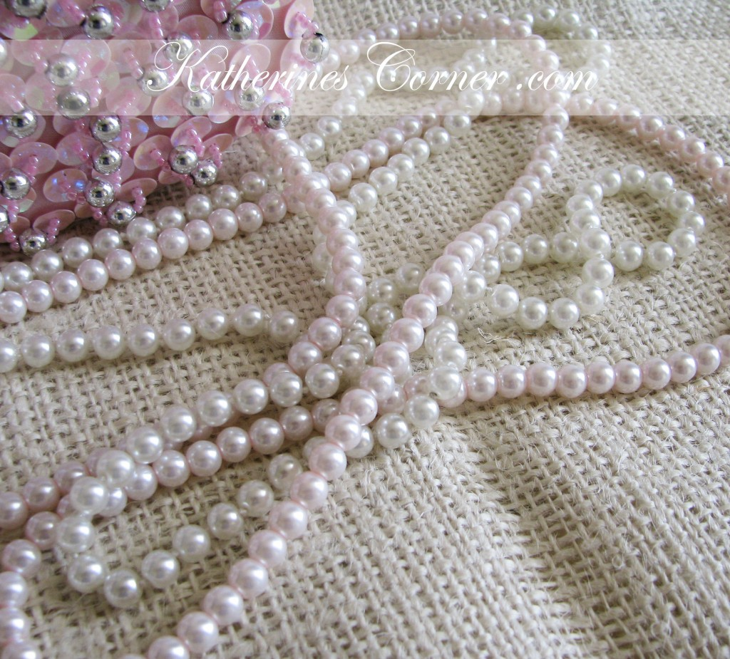 pearls on burlap katherines corner