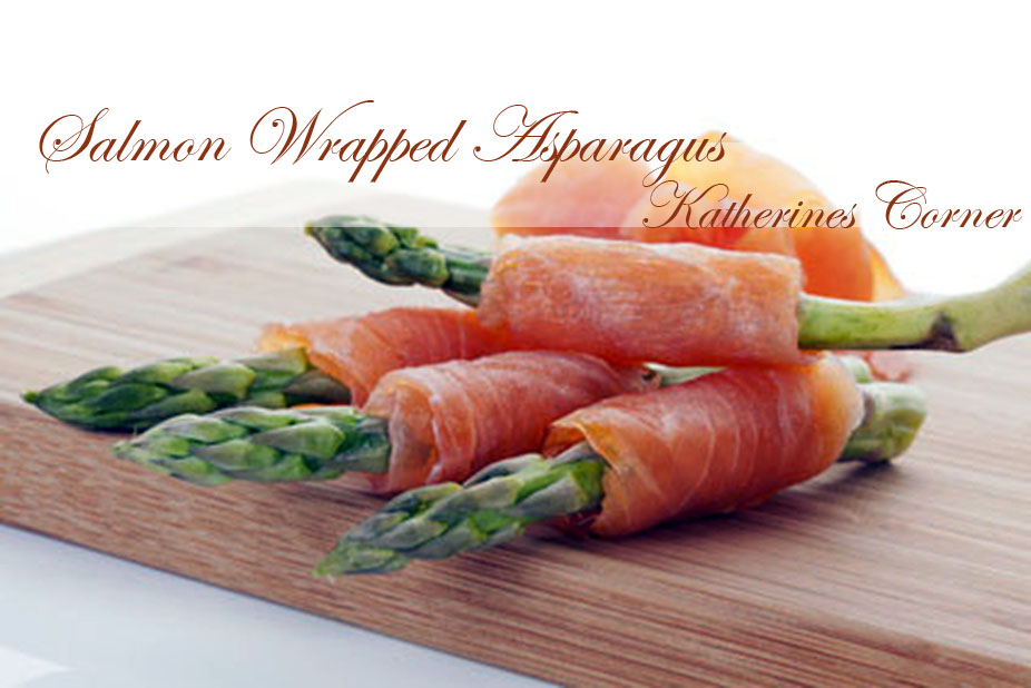 Simple Smoked Salmon Wrapped Asparagus