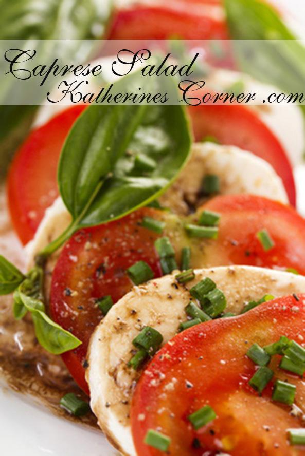 caprese salad katherines corner