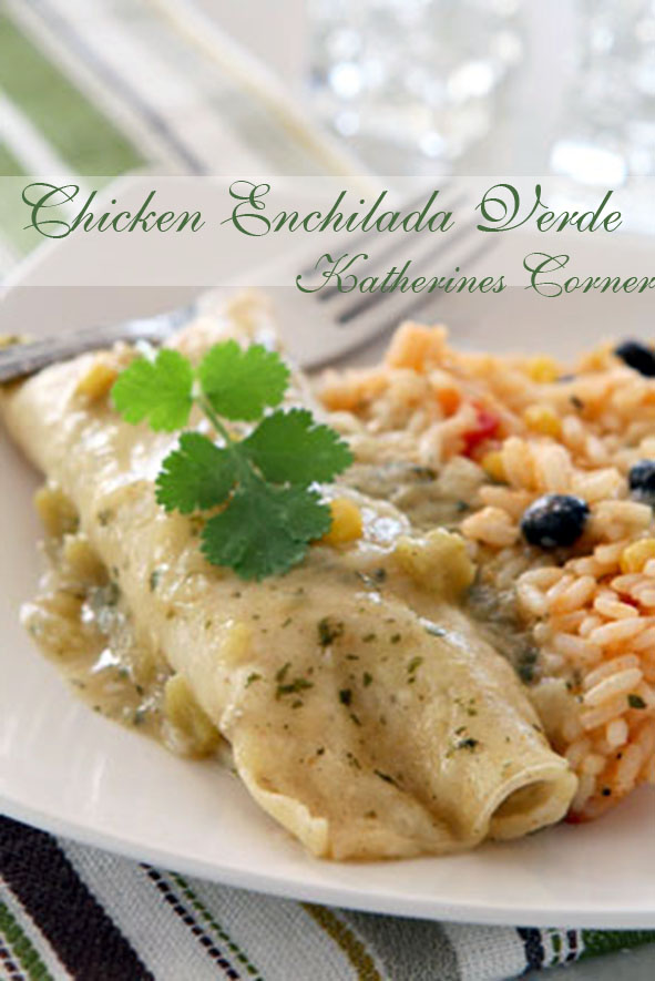Chicken Enchilada Verde