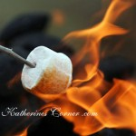 toasting marshmallows katherines corner