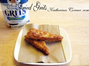 fried grits recipe katherines corner