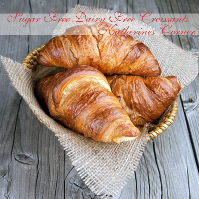 Sugar Free Dairy Free Croissants