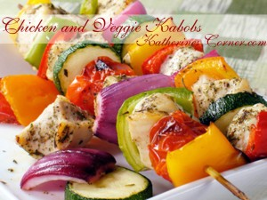 chicken and vegetable kabobs katherines corner