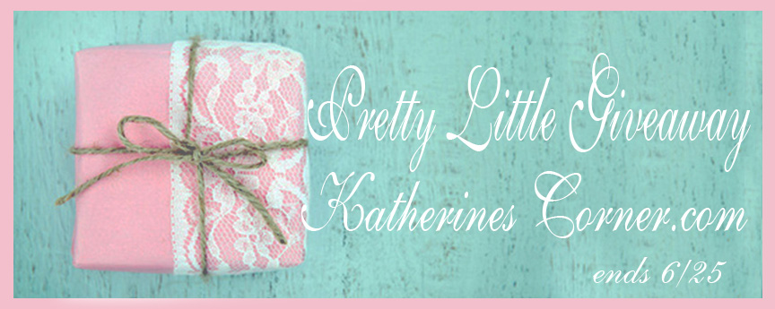 pretty little giveaway Katherines Corner