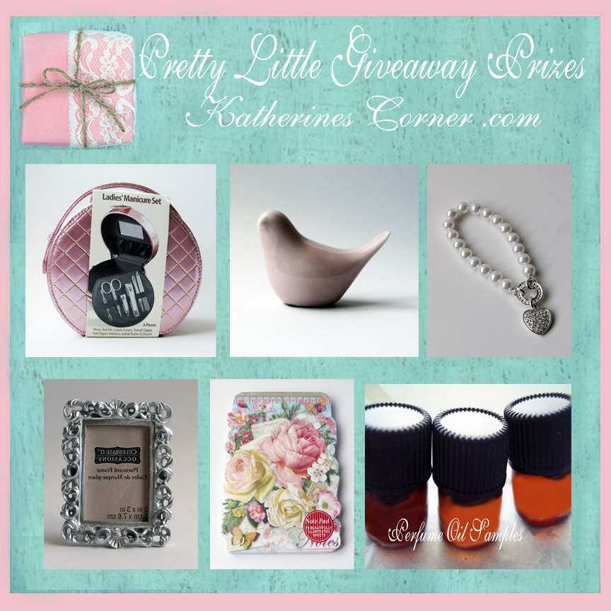 pretty little giveaway prizes