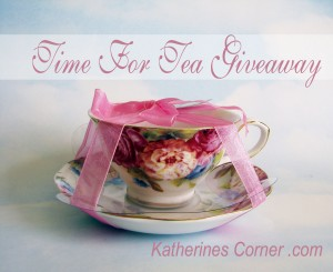 Time For Tea Giveaway