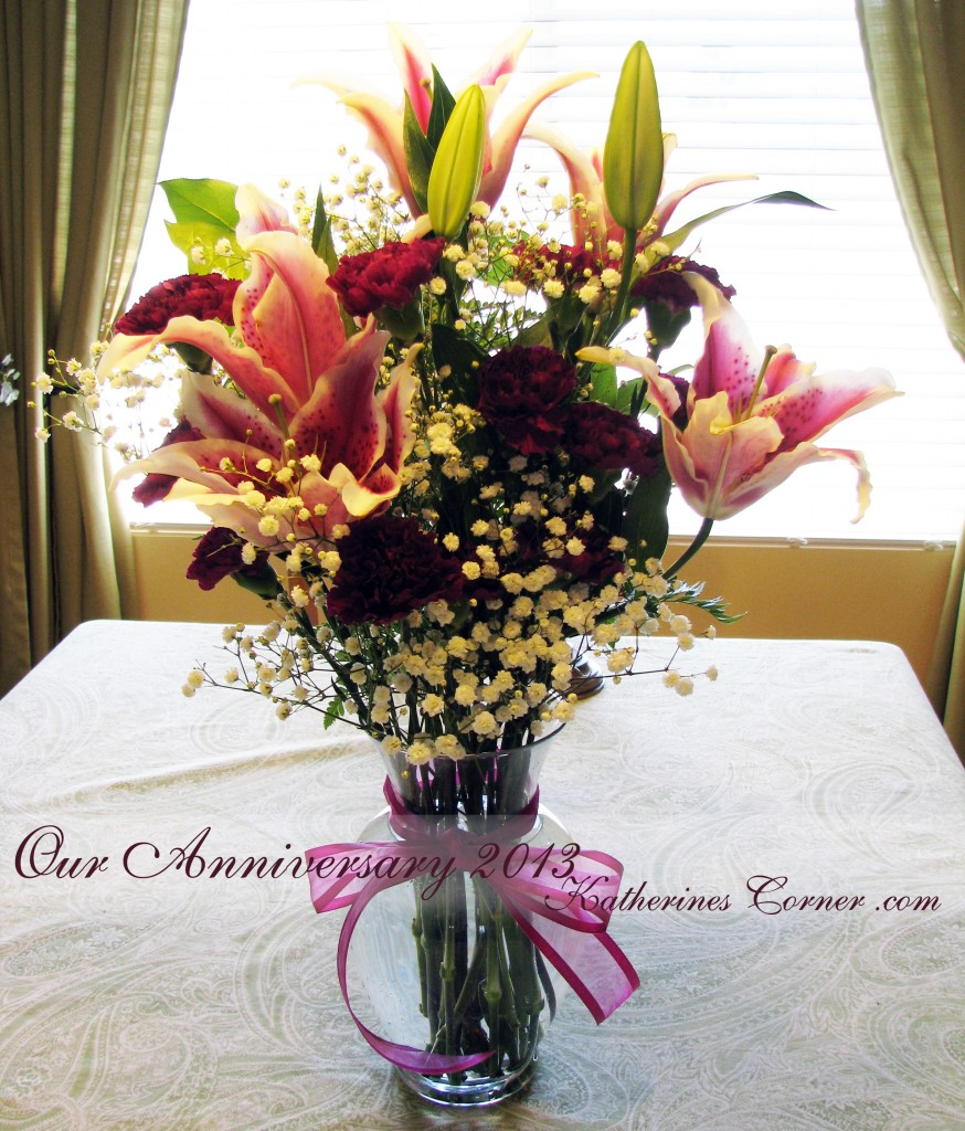 anniversary flowers 2013 katherines corner