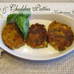 corn and cheddar patties recipe
