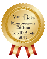 Toot Toot, Tooting My Horn, Top 10 Mompreneurs