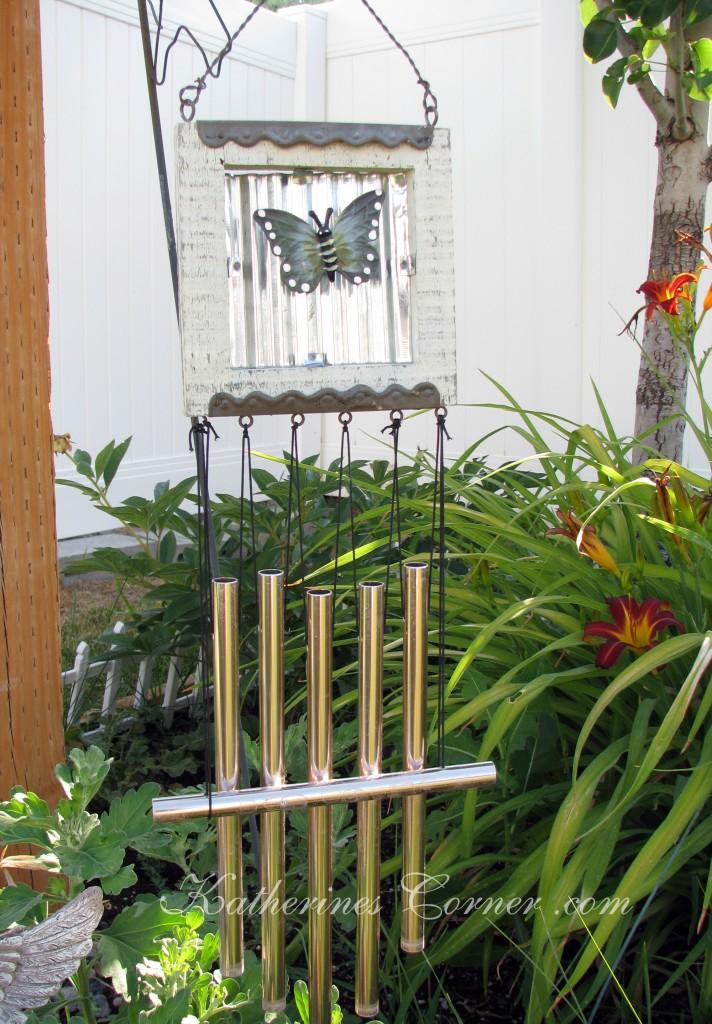 butterfly garden chimes