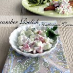 light and fresh cucumber relish recipe