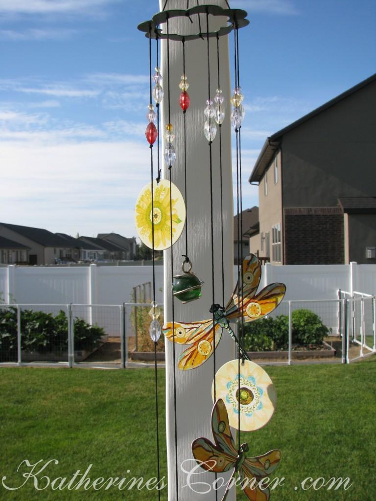 garden wind chimes