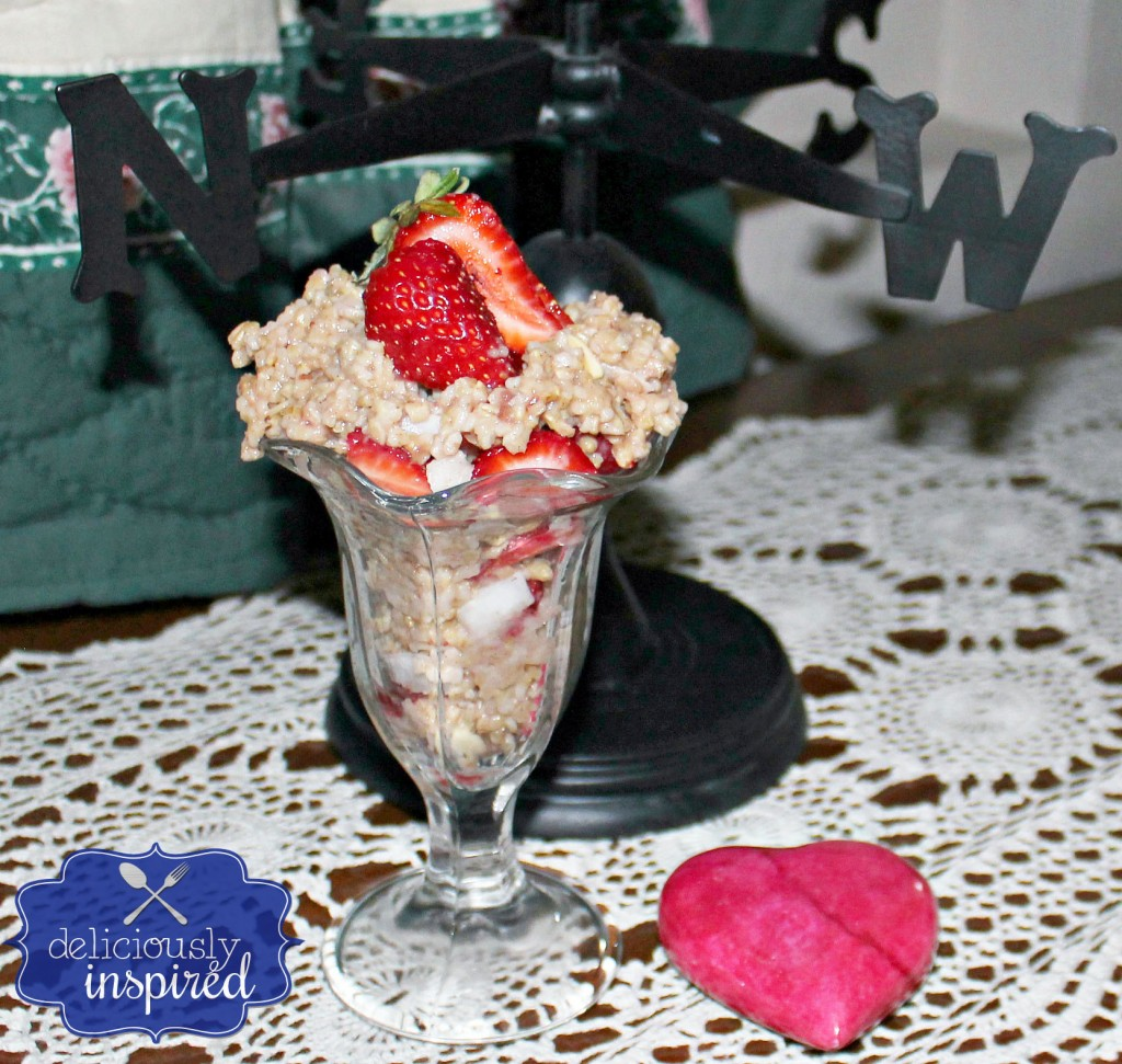 Strawberry Steel Oat Sundae