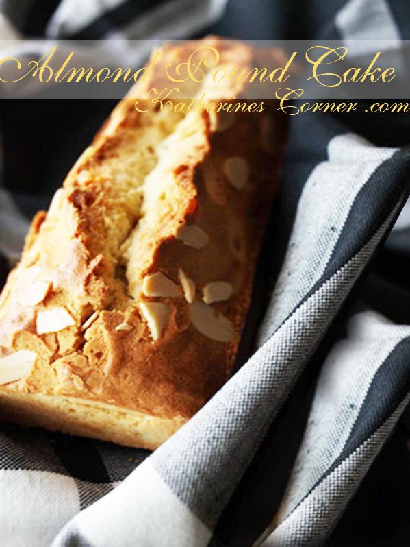 almond pound cake recipe