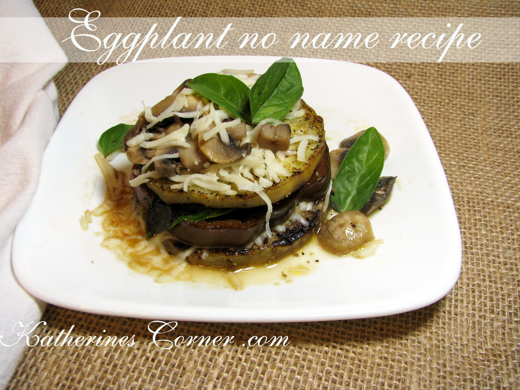 Eggplant No Name Recipe