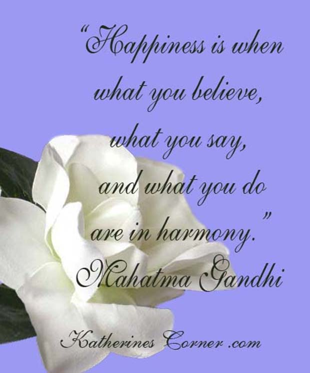gandhi happiness quote
