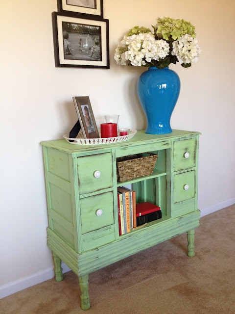 mint green furniture
