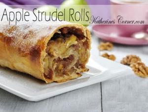 apple strudel rolls