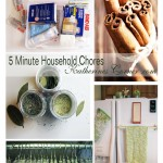 list of five minute household chores
