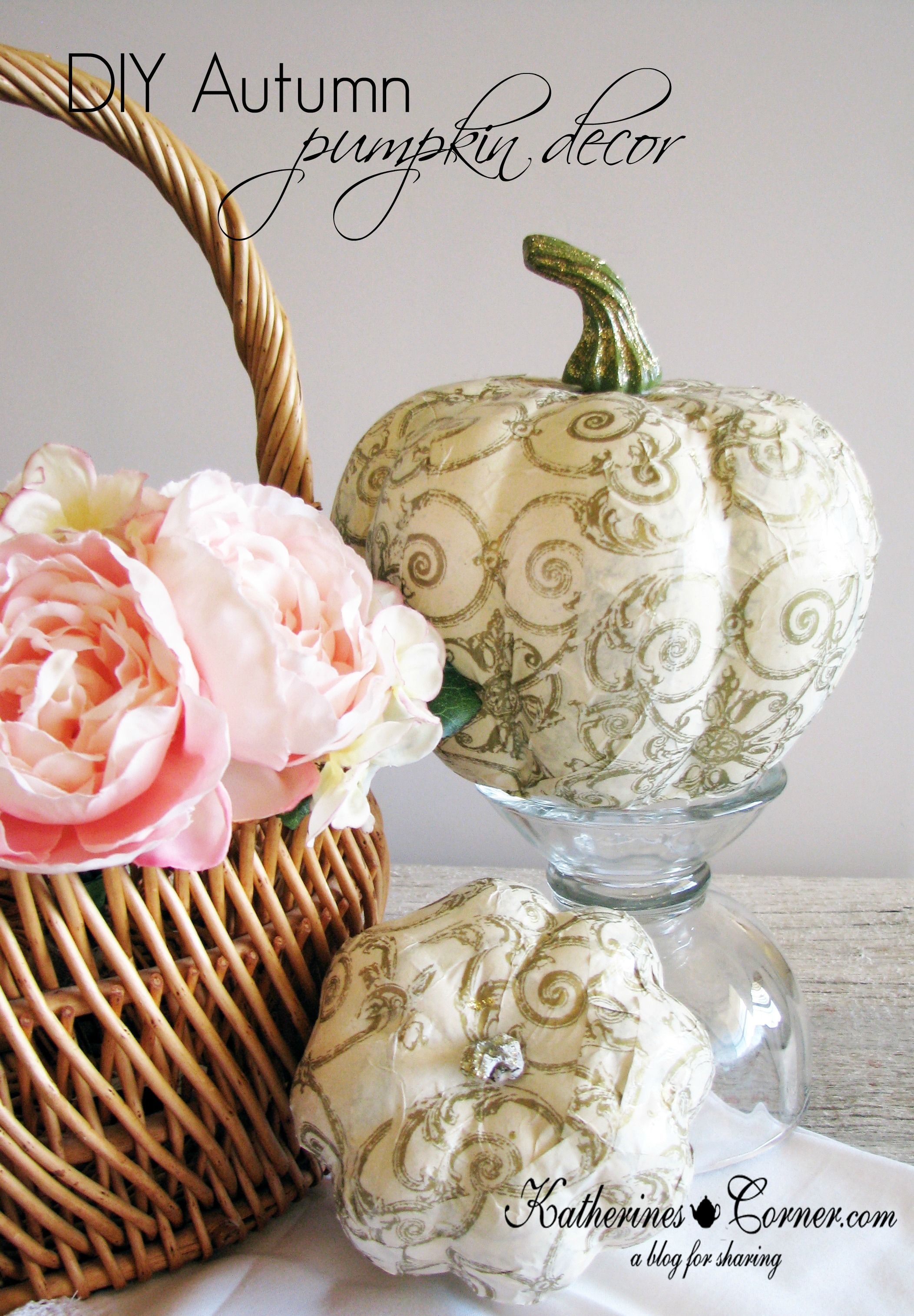 Primp Your Pumpkin Home Decor