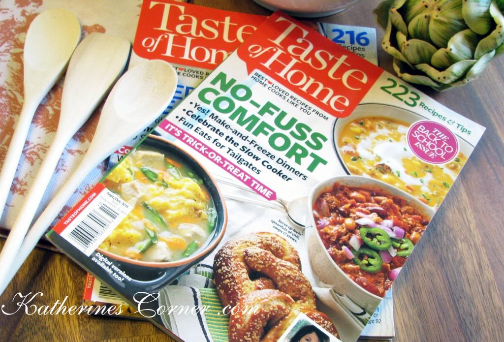 taste of home blogger