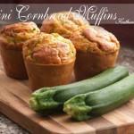 zucchini cornbread muffins