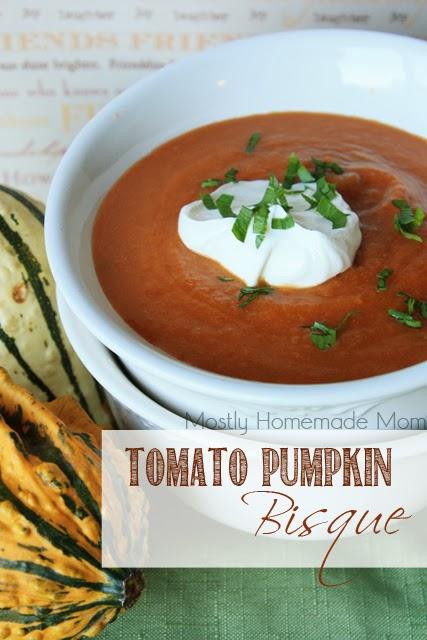 Tomato Pumpkin Soup