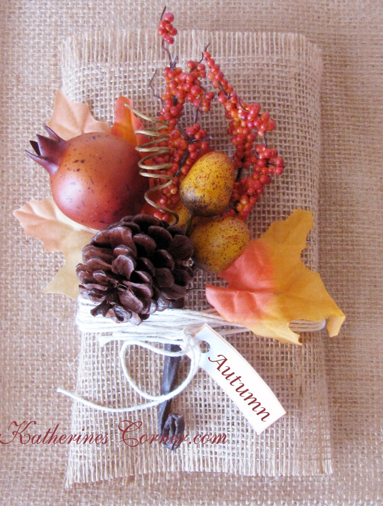 autumn flower bundle