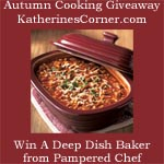 win a covered baking dish