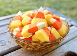 slice and bake candy corn cookies