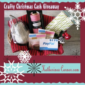 Crafty Christmas Cash Giveaway prizes