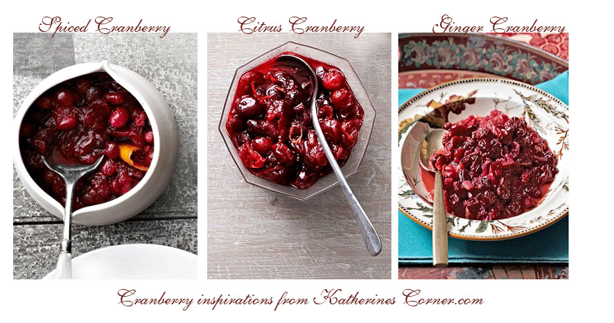 cranberry sauce recipes