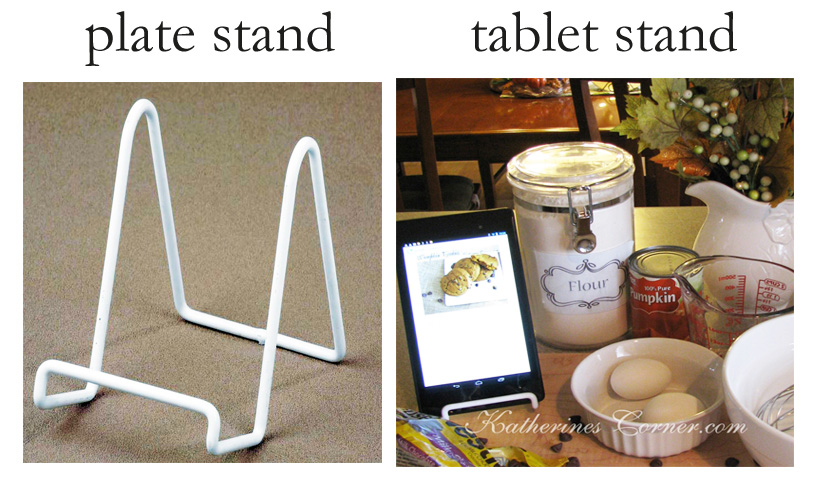 new uses for old things tablet stand