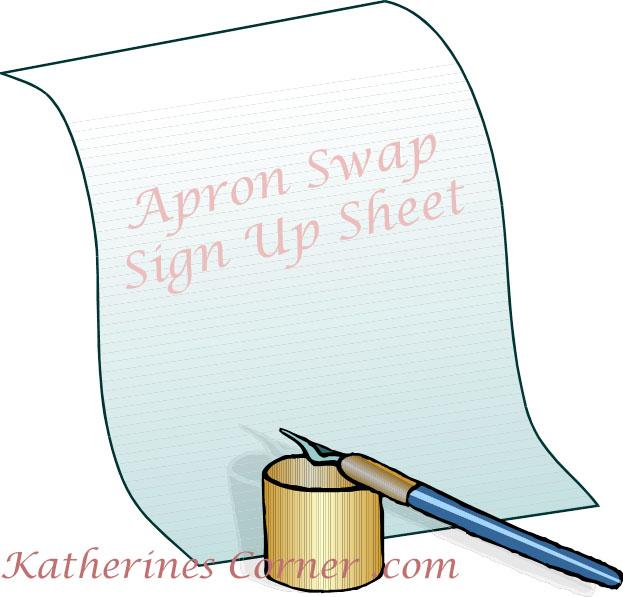 apron swap sign up