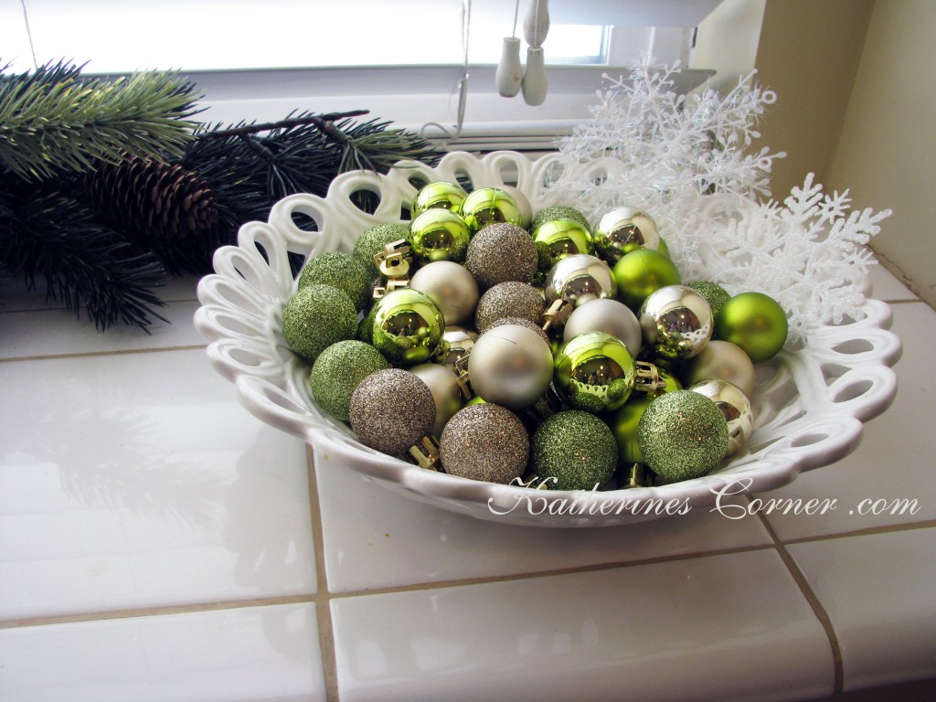 bowl or ornaments