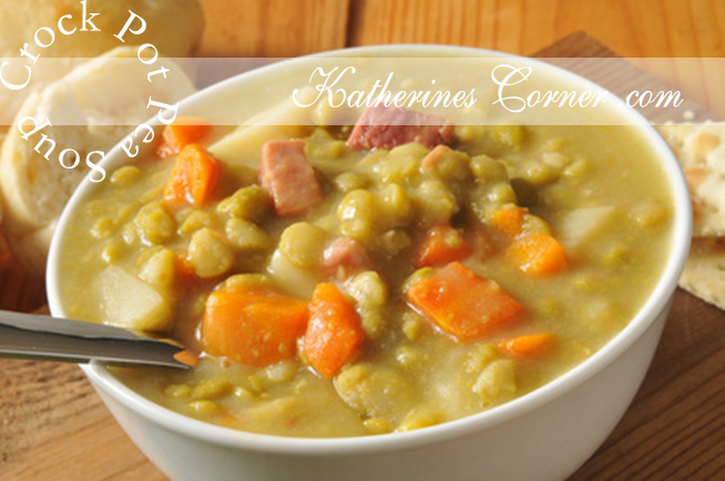 Crock Pot Pea Soup