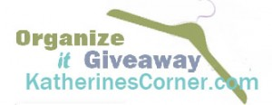 Organize It Giveaway