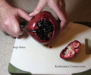 step 3 how to seed a pomegranate