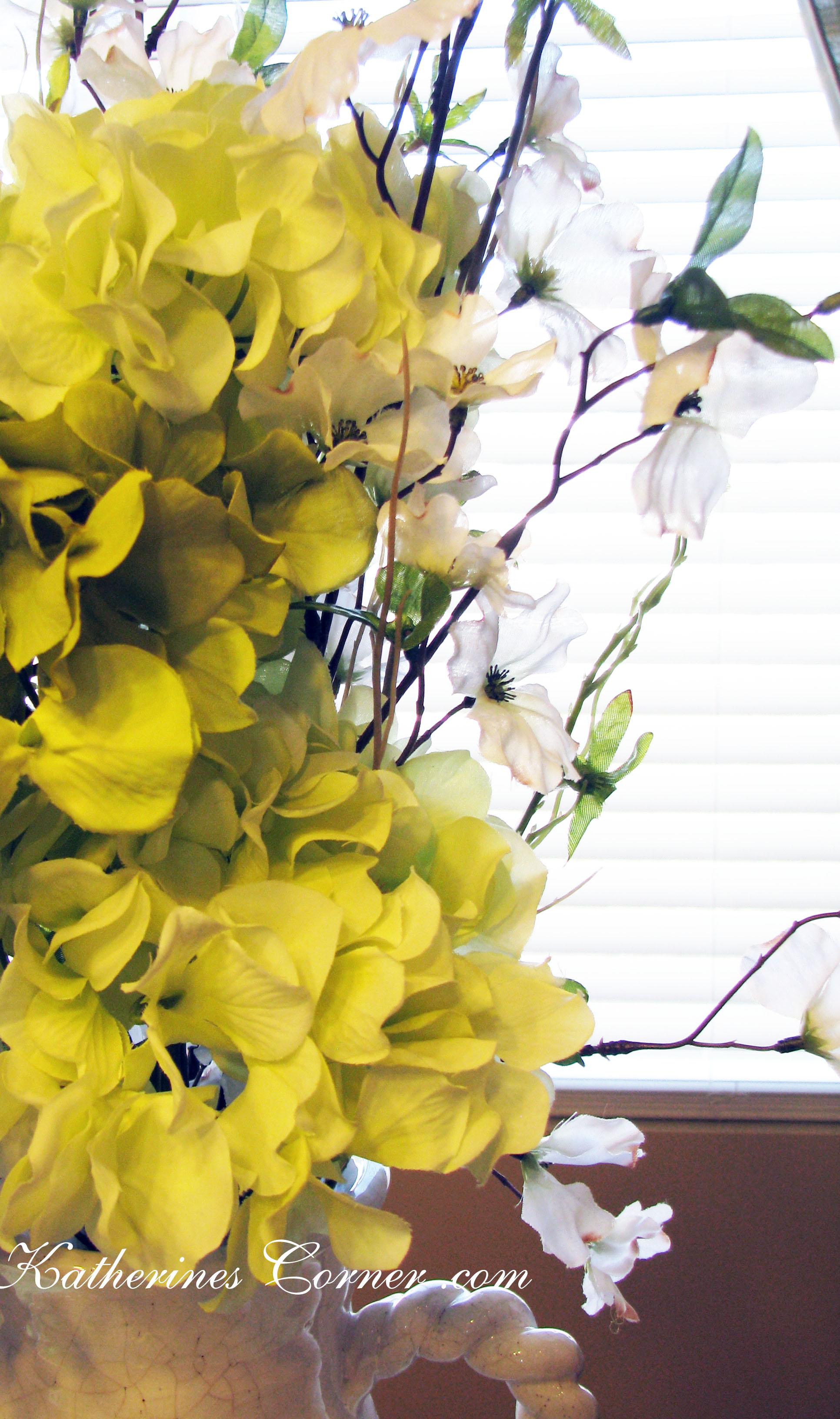 Easy Flower Arranging