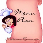 menu plan katherines corner