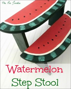 watermelon step stool